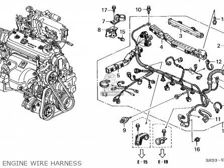 Honda Odyssey 1995 5dr Ex (ka) parts list partsmanual