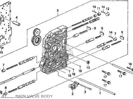 94 Honda Accord Lx Engine Diagram 94 Honda Passport Engine