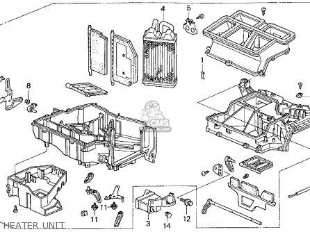 Honda Odyssey 1995 (s) 5dr Lx 7 Seats (ka) parts list
