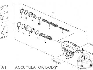 Honda ODYSSEY 1996 (T) 5DR LX 7 SEATS (KA) parts lists and