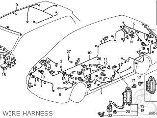 Honda ODYSSEY 2004 (4) 5DR LX (KA) parts lists and schematics