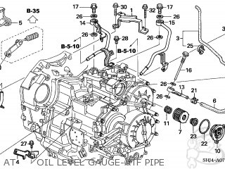 Honda ODYSSEY 2005 (5) 5DR EXL RES/NAVI (KA) parts lists