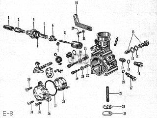 Honda P25 parts lists and schematics