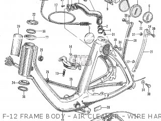 Honda P50 parts lists and schematics