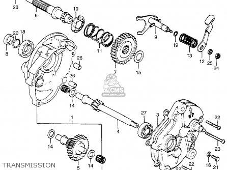 Honda PA50I HOBBIT 1978 USA / 20MPH parts lists and schematics