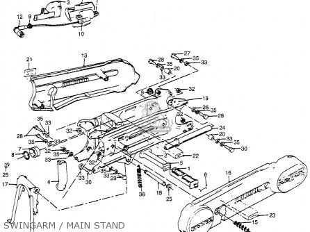 Honda PA50II HOBBIT 1982 (C) USA / 30MPH parts lists and