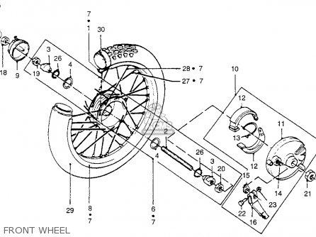 Honda PA50II HOBBIT 1983 (D) USA / 30 MPH parts lists and
