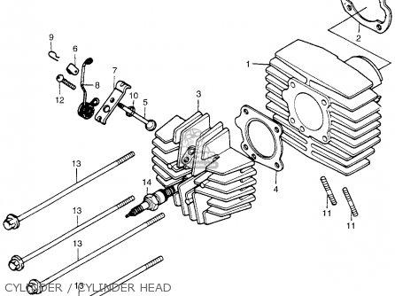 Honda Pa50ii Moped 30 Mph 1978 Usa parts list partsmanual