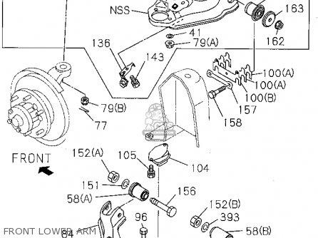Honda Passport 1995 4dr Dx 4x2 4cyl (ka,kl) parts list