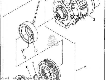 Honda Passport 1995 4dr Lx 4x4 V6 (ka,kl) parts list partsmanual partsfiche