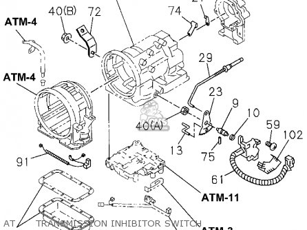 Service manual [1995 Honda Passport Oil Pan Removal