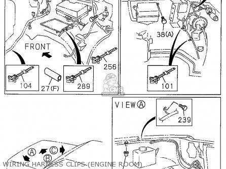 Honda PASSPORT 1995 (S) 4DR LX 4X4 V6 (KA,KL) parts lists