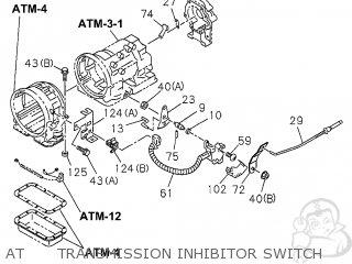 Honda PASSPORT 1998 (W) 4DR 2EX (KA,KL) parts lists and
