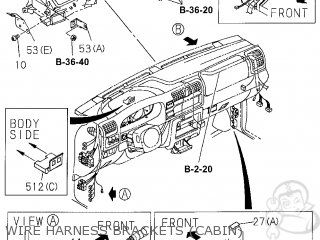 Honda PASSPORT 2001 (1) 4DR 4LX (KA) parts lists and
