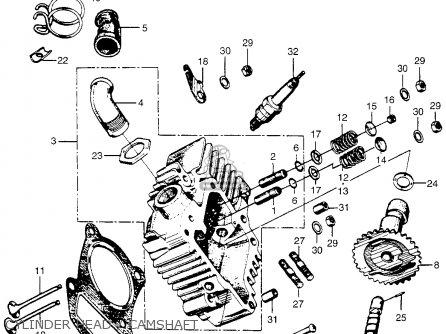 Honda PC50 LITTLE HONDA 1969 USA parts lists and schematics