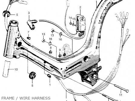 Honda Pc50 Little Honda 1969 Usa parts list partsmanual