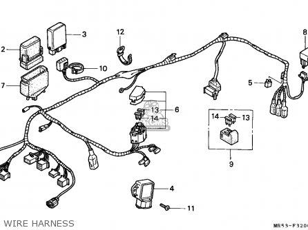 Honda Pc800 Pacific Coast 1989 France / Yb parts list