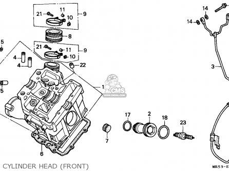 Honda PC800 PACIFIC COAST 1989 (K) ITALY parts lists and