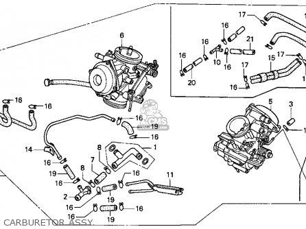 Honda Pc800 Pacific Coast 1989 (k) Usa California parts