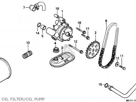 Honda PC800 PACIFIC COAST 1990 (L) CANADA parts lists and