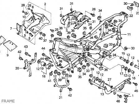 Honda Pc800 Pacific Coast 1990 (l) Usa California parts