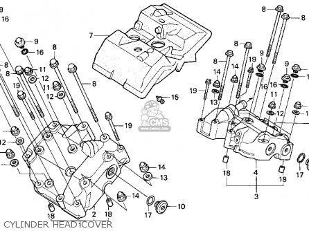 Honda Pc800 Pacific Coast 1990 Usa parts list partsmanual