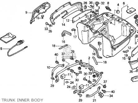 Honda PC800 PACIFIC COAST 1996 (T) USA CALIFORNIA parts