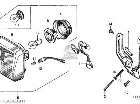 Honda PK50 WALLAROO 1990 (L) BELGIUM parts lists and
