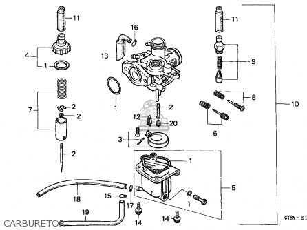 Honda Pk50 Wallaroo 1992 (n) Spain parts list partsmanual