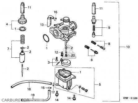 Honda PK50 WALLAROO 1993 (P) BELGIUM parts lists and