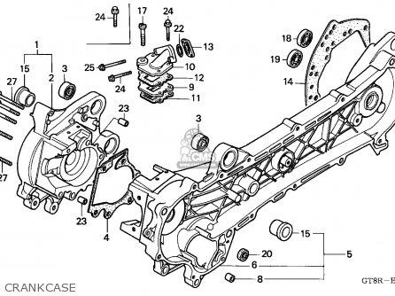 Honda Pk50 Wallaroo 1994 Netherlands parts list
