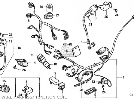 Honda PK50 WALLAROO 1994 (R) NETHERLANDS parts lists and