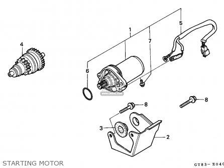 Honda PK50M WALLAROO 1990 (L) FRANCE / SEL parts lists and