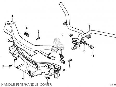 Honda Pk50m Wallaroo 1993 (p) Belgium / Sel parts list