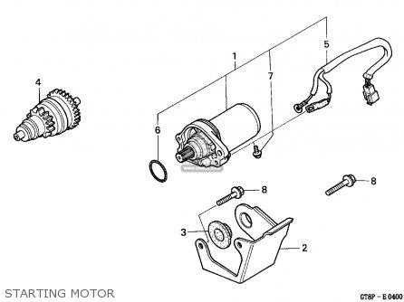 Honda PK50M WALLAROO 1993 (P) SPAIN / SEL parts lists and