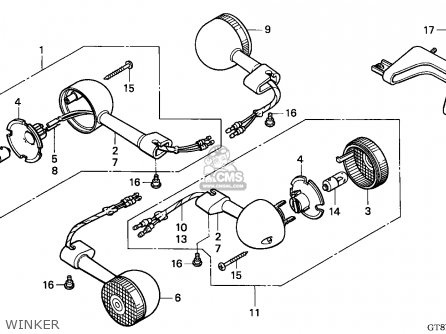 Honda PK50M WALLAROO 1994 (R) SPAIN / SEL parts lists and
