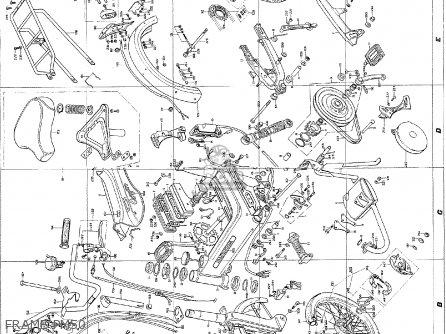 Honda Pm50 Canguro General Export parts list partsmanual