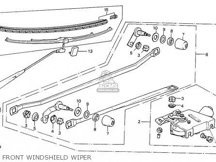 Honda PRELUDE 1979 (Z) 1980 (A) HMT GENERAL EXPORT parts