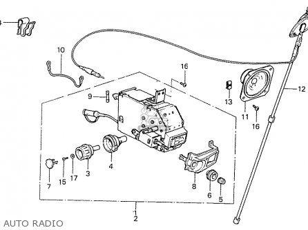Honda PRELUDE 1979 (Z) 1980 (A) MT GENERAL EXPORT parts