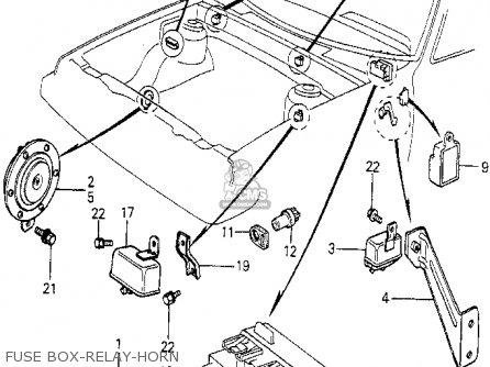 Honda PRELUDE 1980 (A) 2DR (KA,KH,KL) parts lists and