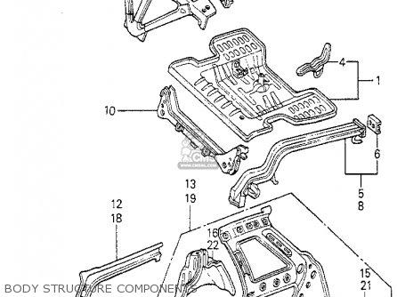 Honda Prelude 1981 2dr (ka,kh,kl) parts list partsmanual