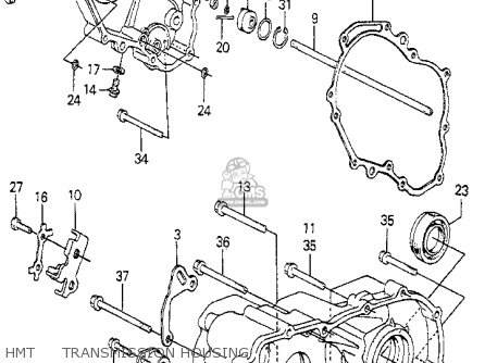 Honda Prelude 1981 2dr (ka,kh,kl) parts list partsmanual