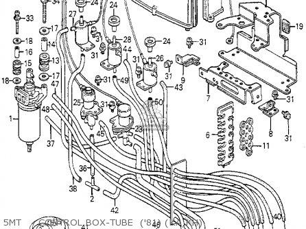 Honda PRELUDE 1981 (B) 2DR (KA,KH,KL) parts lists and