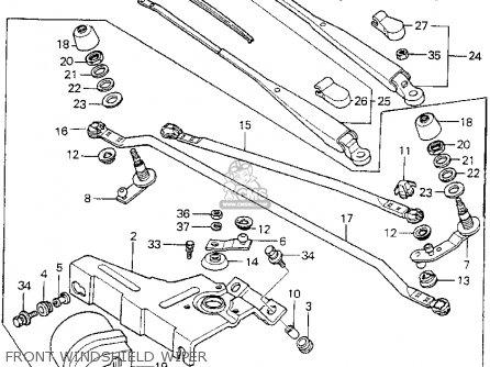Honda Prelude 1982 2dr (kl,ka,kh) parts list partsmanual