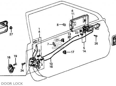 Honda Prelude 1983 2dr Dx (ka,kh,kl) parts list