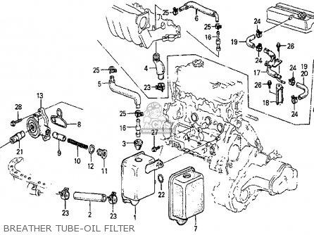 Honda Prelude 1983 (d) 2dr Dx (ka,kh,kl) parts list