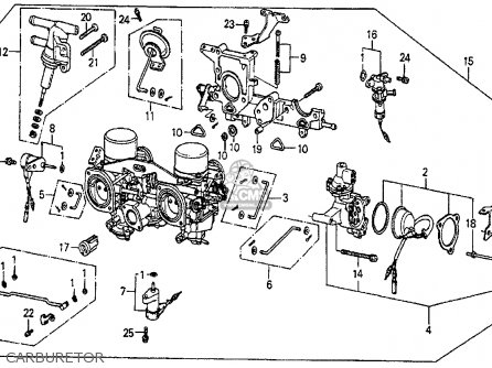 Honda Prelude 1983 (d) 2dr Dx (ka,kh,kl) parts list