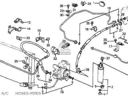 Honda Prelude 1984 2dr Dx (ka,kl) parts list partsmanual