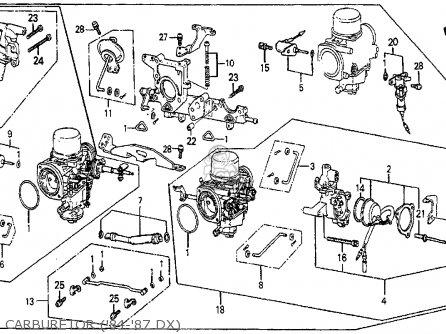 1985 Honda prelude carburetor