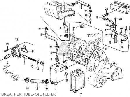Service manual [1985 Honda Accord Oil Filter Housing